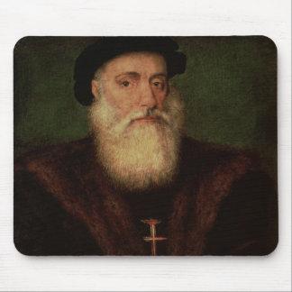 Portrait presumed to be of Vasco da Gama  c.1524 Mousepad