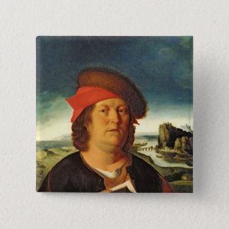 Portrait presumed to be Paracelsus Pinback Button
