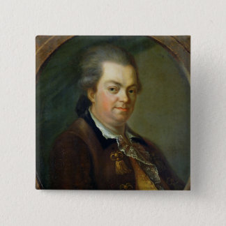 Portrait presumed to be pinback button