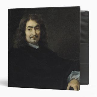 Portrait, presumed to be Rene Descartes 3 Ring Binder