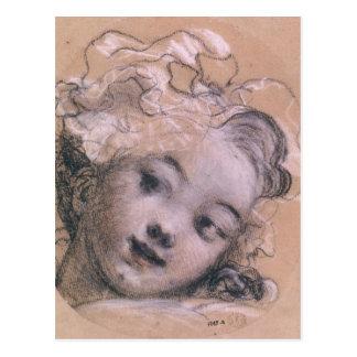 Portrait presumed to be Rosalie Postcard