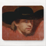 Portrait, presumed to be the artist, 1775 mouse pad