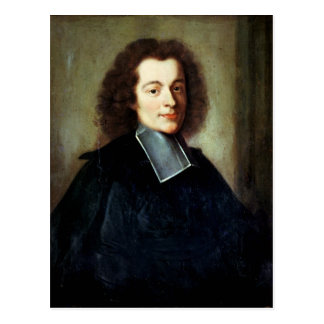 Portrait presumed to be Voltaire  as a young man Postcard