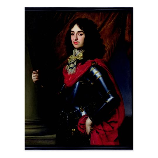 Portrait Prince Edward of Palatinate in Armour Postcard