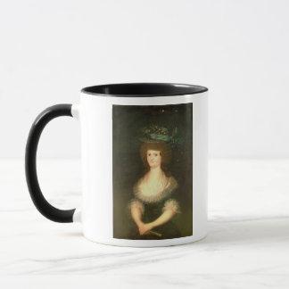 Portrait Queen Maria Luisa  wife of King Mug