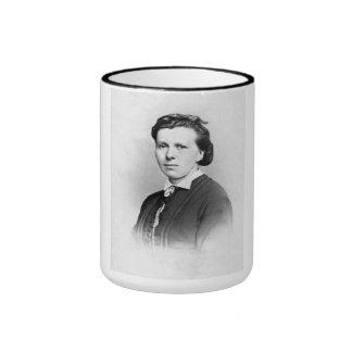 "PORTRAIT ""RAINE"" (1870s) Ringer Coffee Mug"