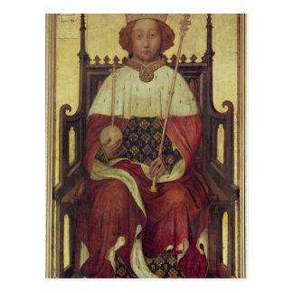 Portrait Richard II 'The Westminster Portrait' Postcard