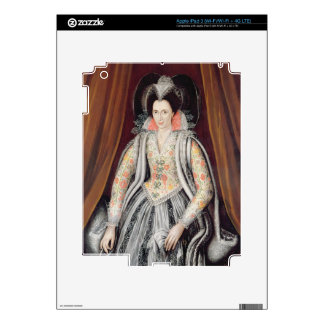 Portrait said to be Susan, Lady Grey iPad 3 Decal