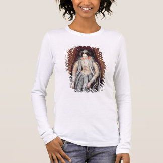 Portrait said to be Susan, Lady Grey Long Sleeve T-Shirt