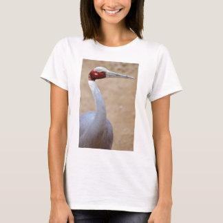 Portrait sarus crane T-Shirt