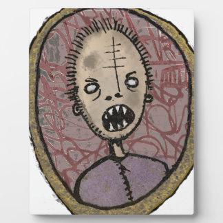 Portrait sharp teeth plaque