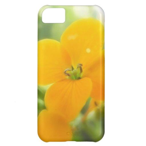 Portrait - Siberian Wallflower iPhone 5C Case