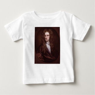 Portrait Sir Isaac Newton by Sir Godfrey Kneller Baby T-Shirt