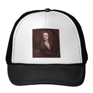 Portrait Sir Isaac Newton by Sir Godfrey Kneller Trucker Hat