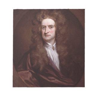 Portrait Sir Isaac Newton by Sir Godfrey Kneller Scratch Pads