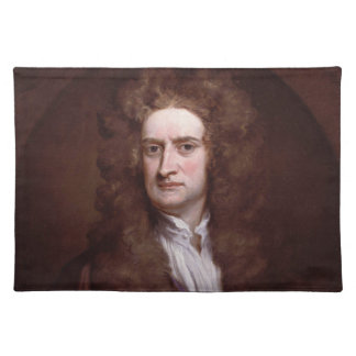 Portrait Sir Isaac Newton by Sir Godfrey Kneller Placemats