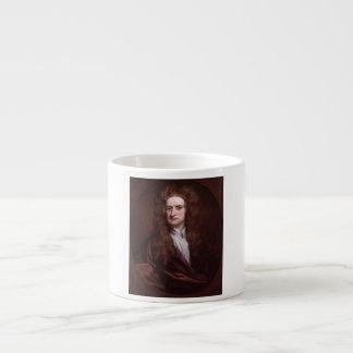 Portrait Sir Isaac Newton by Sir Godfrey Kneller Espresso Cup