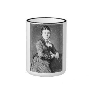 "PORTRAIT ""SOPHIA""  (1870s) Ringer Coffee Mug"