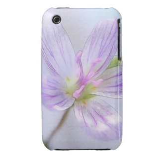 Portrait - Spring Beauty Flower Case-Mate iPhone 3 Cases