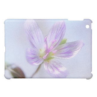 Portrait - Spring Beauty Flower iPad Mini Cover