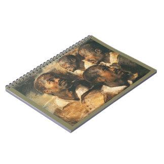 Portrait Studies 1620 Note Book