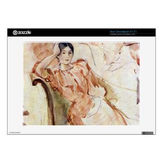 Portrait studies of Jeanne Pontillon by Morisot Skins For Acer Chromebook