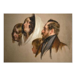 Portrait Study by Friedrich von Amerling Card