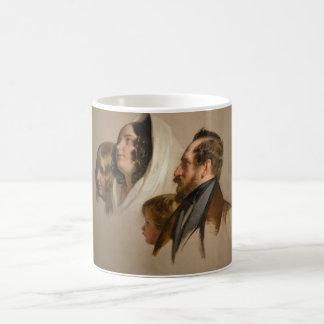 Portrait Study by Friedrich von Amerling Coffee Mug