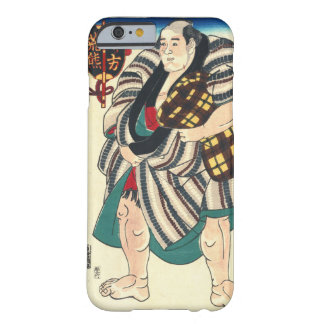 Portrait Sumo Wrestler 1847 Barely There iPhone 6 Case