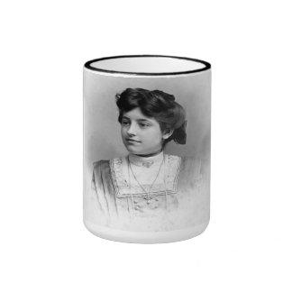 "PORTRAIT ""THERESE"" (1900s) Ringer Coffee Mug"