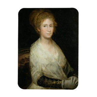 Portrait thought to be Josepha Bayeu (d.1812) wife Magnet