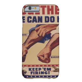 Portrait_War image Barely There iPhone 6 Case