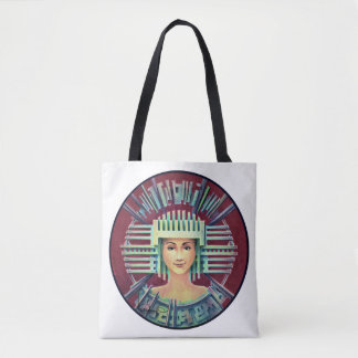 PORTRAIT WITH CHULLO (all printed Tote Bag)