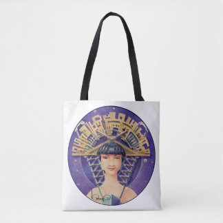PORTRAIT WITH GOLDEN PIECE (Tote Bag) Tote Bag