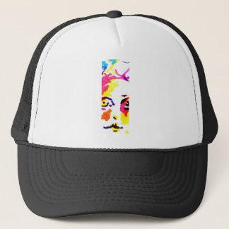 Portrait Z Skinny Girl in Sunlight Trucker Hat