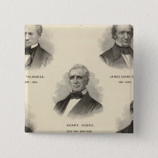 Portraits Governors of Wisconsin NP Talmadge Button