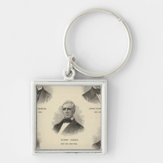 Portraits Governors of Wisconsin NP Talmadge Keychain
