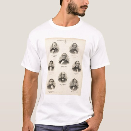 Portraits Governors of Wisconsin NP Talmadge T-Shirt