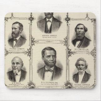 Portraits of Addison Daniels, RD Stephens Mouse Pad