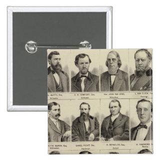 Portraits of Attorneys, Minnesota Pins