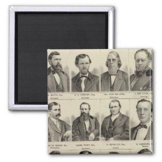 Portraits of Attorneys, Minnesota Fridge Magnet