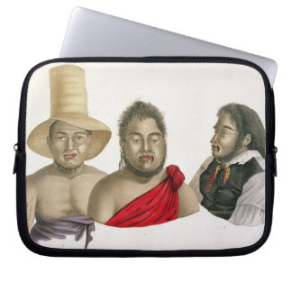 Portraits of chiefs of the Sandwich Islands, from Computer Sleeve