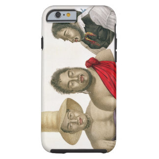 Portraits of chiefs of the Sandwich Islands, from Tough iPhone 6 Case