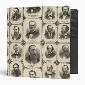 Portraits of Citizens of Cedar Rapids 3 Ring Binder