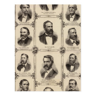 Portraits of Citizens of Polk County Postcard