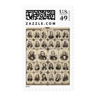 Portraits of Citizens of Scott County Stamp