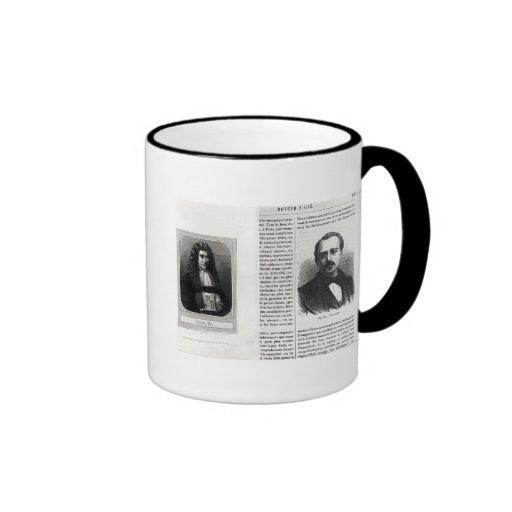 Portraits of Denis Papin  and Etienne Lenoir Mug