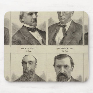 Portraits of Early Settlers of Minnesota Mouse Pad