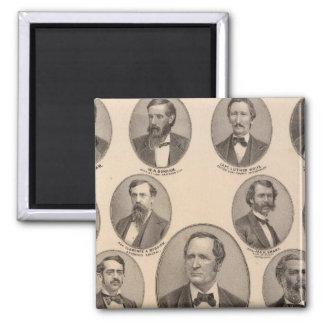 Portraits of Hon Thomas A Hendricks Magnet
