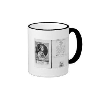 Portraits of Horace  Scipio Aemilianus Ringer Mug